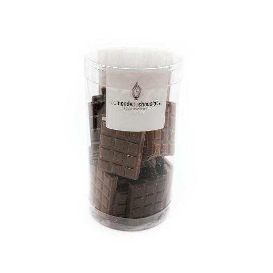 MINI-TABLETTES CHOCOLAT NOIR & LAIT